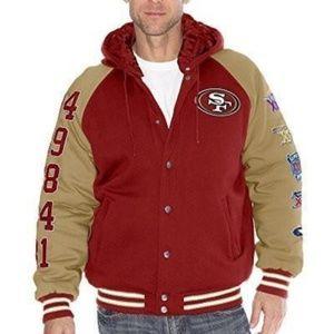 NFL SF 49ers Super Bowl Champions Bomber Jacket
